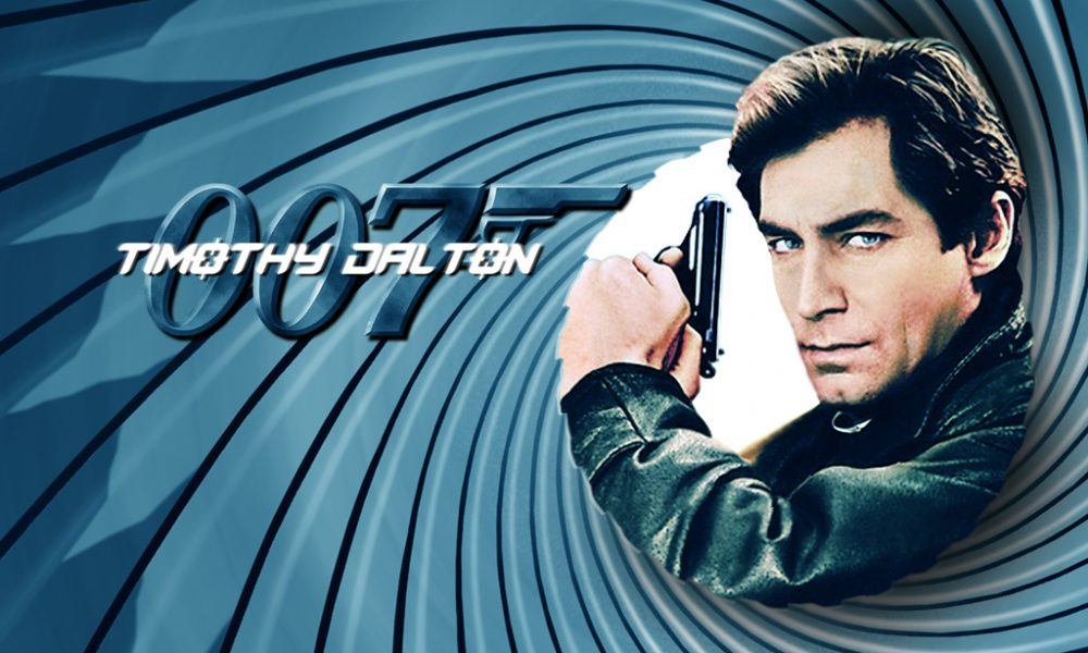 Timothy Dalton como James Bond de John Glen (1987 – 1989):