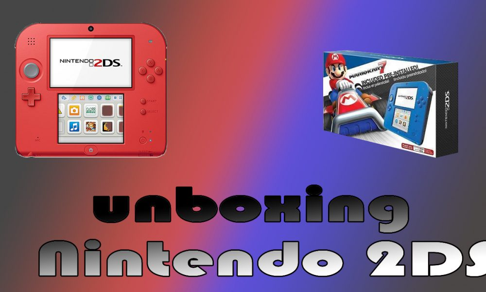 Unboxing Nintendo 2DS!