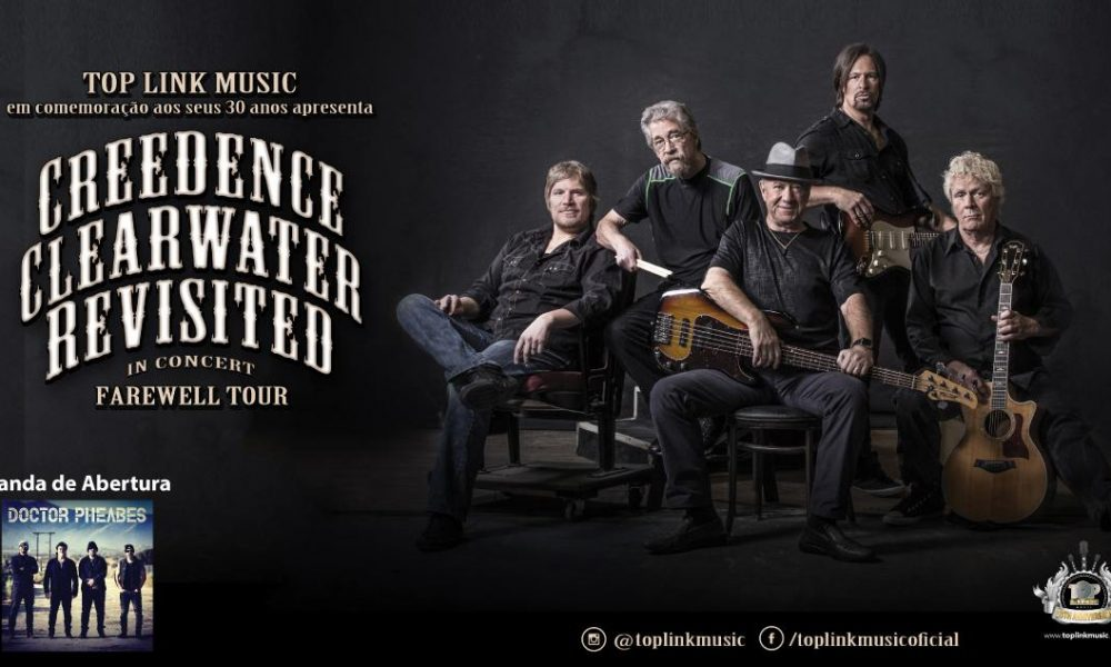 Creedence Clearwater Revisited: Retorna ao Brasil com turnê de despedida