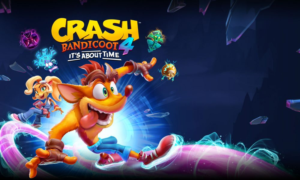 Crash Bandicoot 4: It's About Time já está disponível na PlayStation 4 e Xbox One