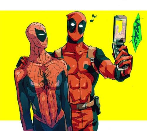 Deadpool e Aranha