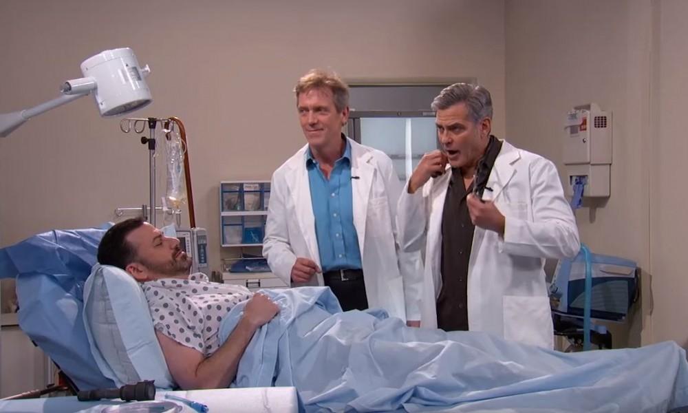 Crossover do Dr. House (Hugh Laurie) com o Dr. Ross (George Clooney)