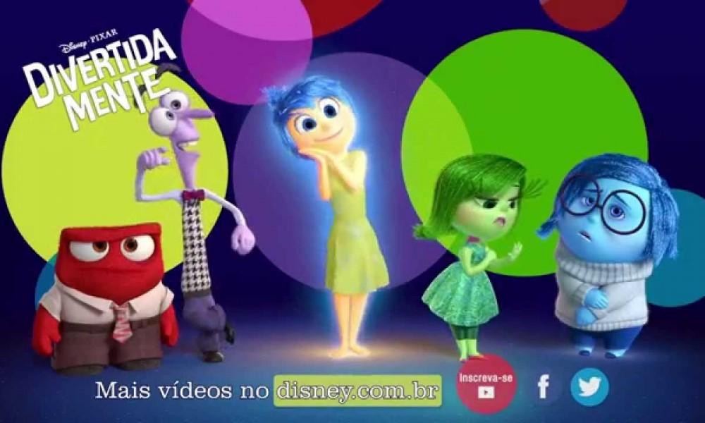 Divertida Mente: O Divertidamente da Pixxar
