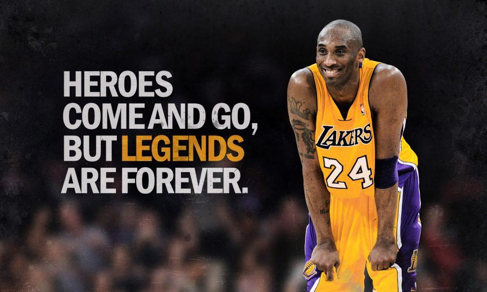 Kobe Bryant: Uma lenda das quadras.