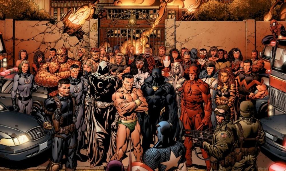 Vingadores: A Queda de Bendis (2005) ao Wanda Vision (2020):