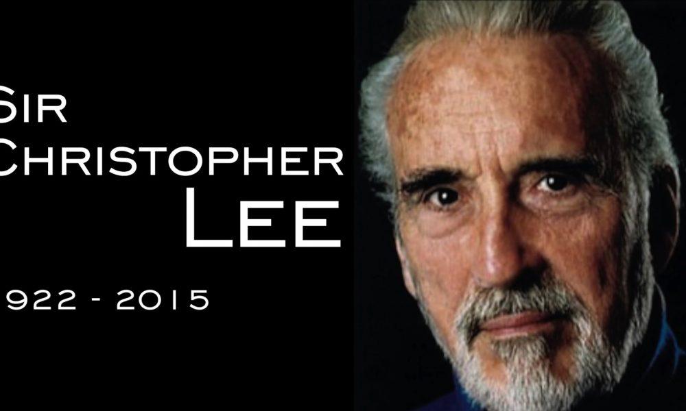 Christopher Lee (1922 – 2015):