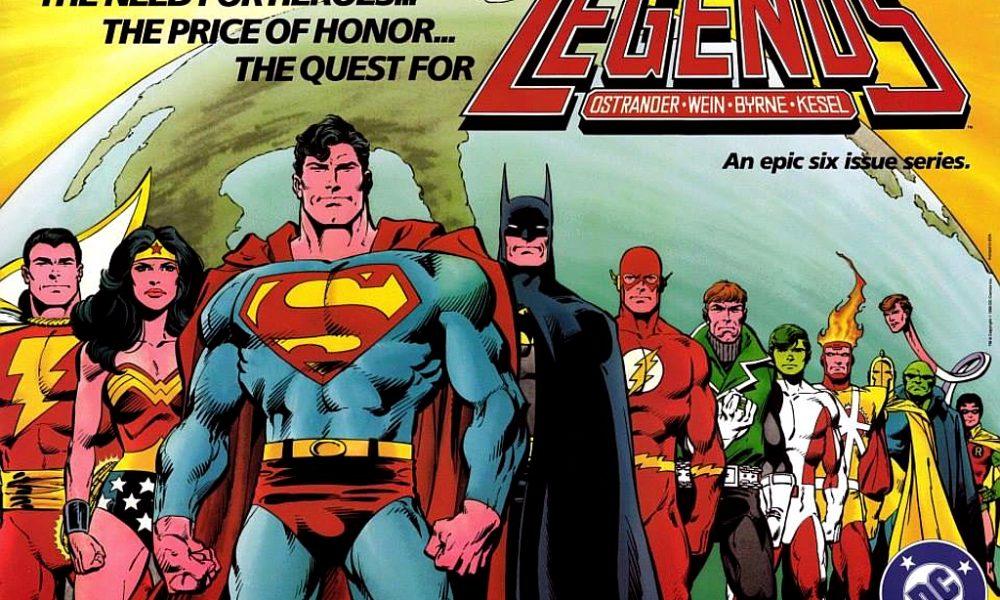 Lendas: A Liga da Justiça Internacional da DC Comics (1987)