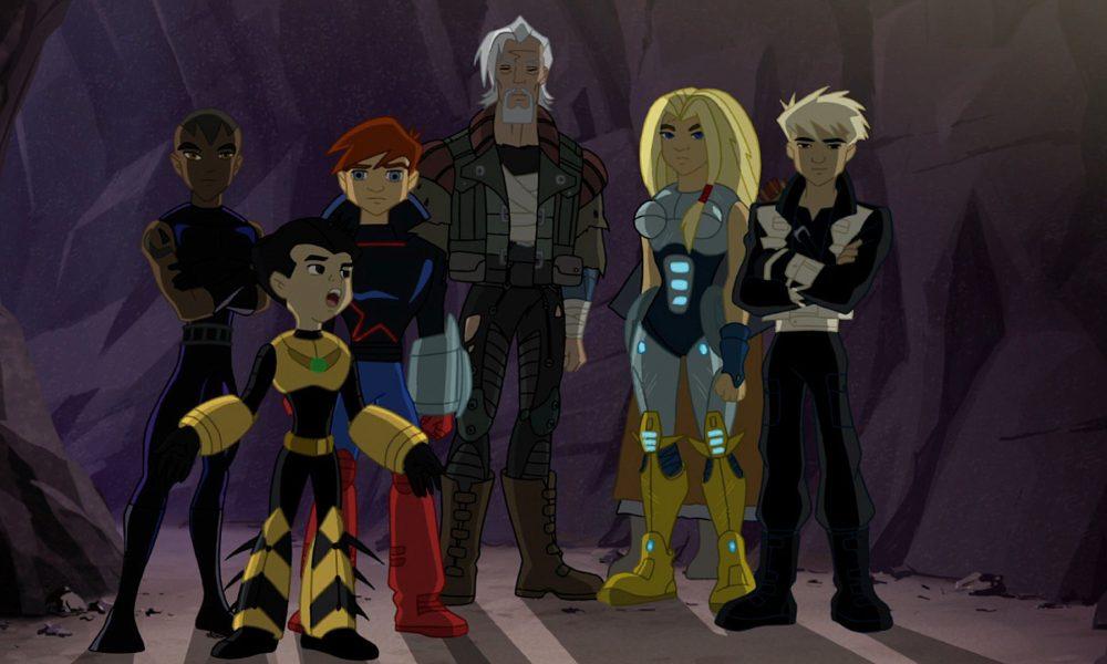 Os Novos Vingadores Os Heróis do Amanhã (Animação 2008):