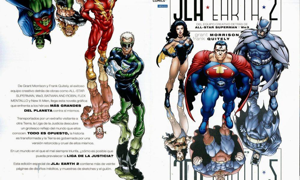 Liga da Justiça: Terra 2 (JLA: Earth 2 de Grant Morrison e Frank Quitely)