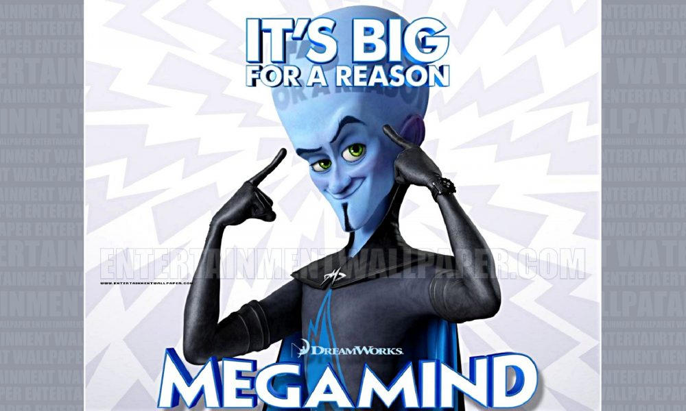 Megamind: O Megamente da Dreamworks (2010):