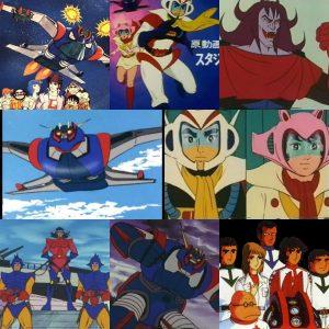 Piratas Do Espaco Ou Groizer X Desenho Japones De 1976 A 1977