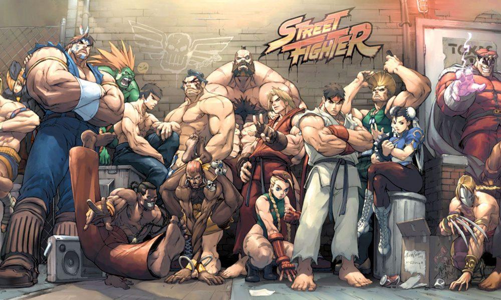 Street Fighter: Games da Capcom (1987 – 2010).