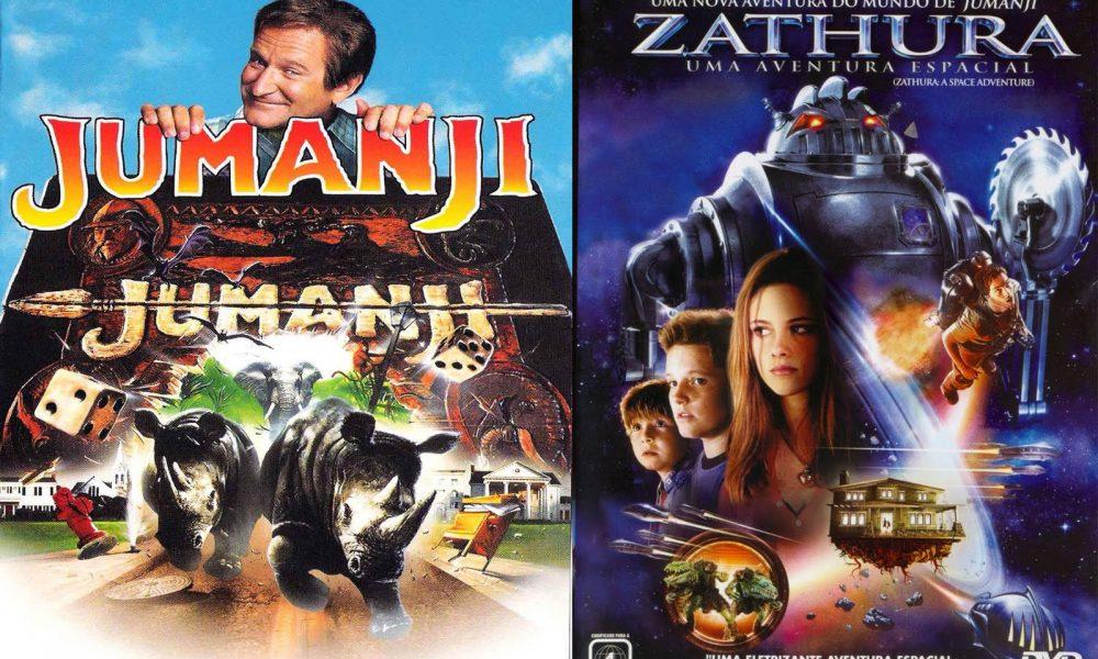 Jumanji VS Zathura de Chris Van Allsburg (1995 – 2005):