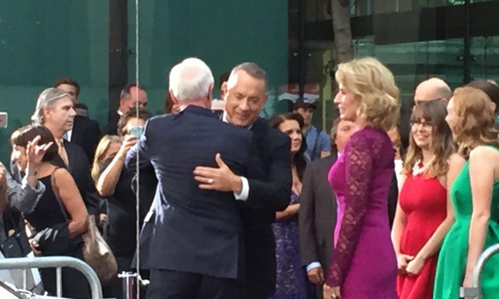 Fotos: Pré-estreia de novo filme com Tom Hanks em Nova York!