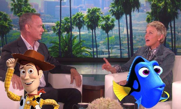 E se Woody, de Toy Story, encontrasse Dory?