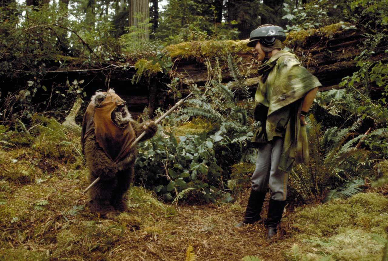 Ewoks O Spin Off Do Universo Star Wars Noset
