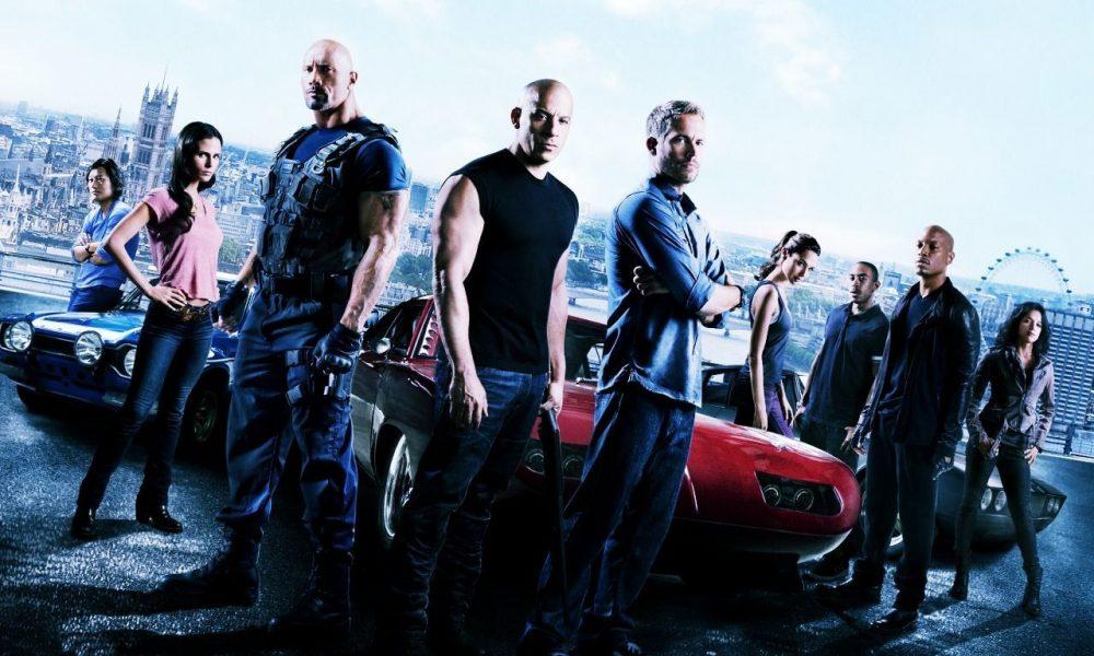 Velozes e Furiosos de Vin Diesel e Paul Walker (2001 a 2015).