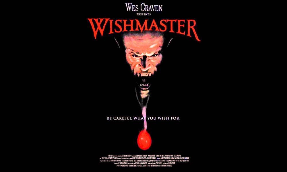 Wishmaster: O Mestre Dos Desejos de Wes Craven e Robert Kurtzman.