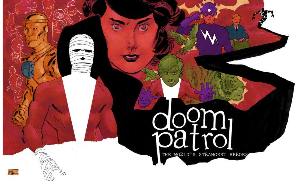 Patrulha do Destino: Doom Patrol por Drake, Morrison, Byrne e Giffen.