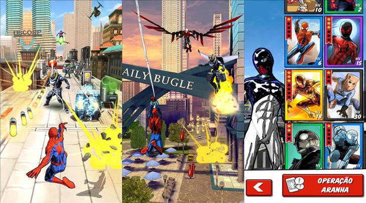 Homem-Aranha: Top 5 Melhores jogos do Cabeça de teia