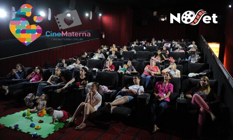 Mães e filhos estarão unidos no cinema com o CineMaterna.