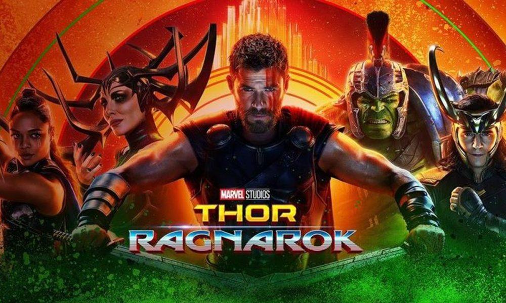 """""""Thor – Ragnarok"""", da Marvel Studios, foi o filme mais visto no final de semana de seu lançamento e se torna a terceira maior estreia do estúdio no Brasil"""