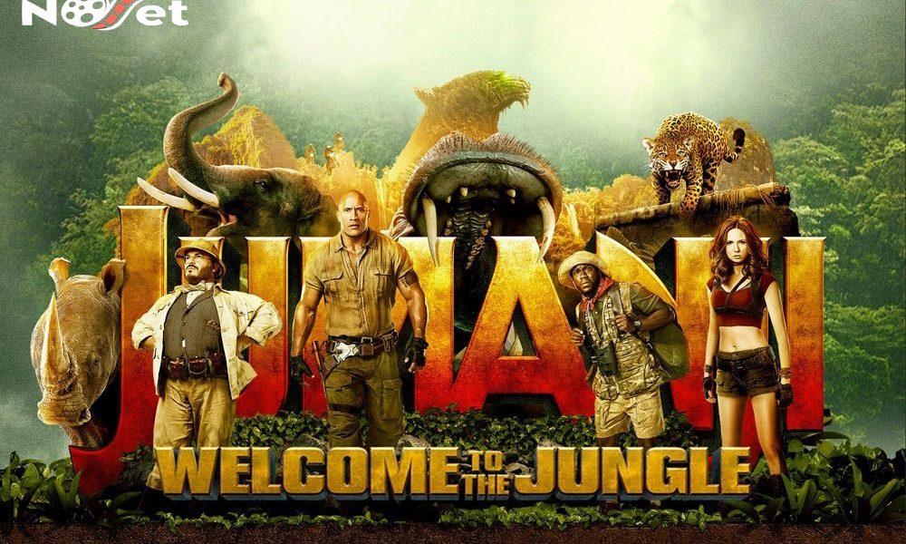 Jumanji: Bem vindo à selva. Divertida homenagem ao filme original, mas com vida própria.