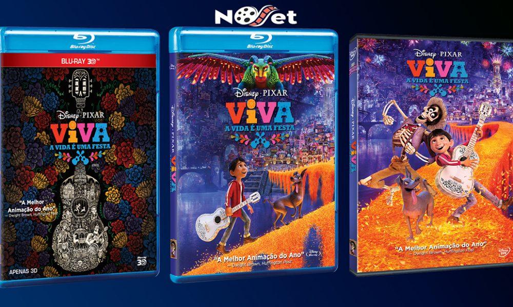Viva – A Vida é Uma Festa chegou em DVD, Blu-ray™ e Blu-ray 3D™