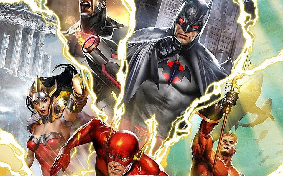 Liga da Justiça: Flashpoint Paradox – review da mais violenta animação da DC.