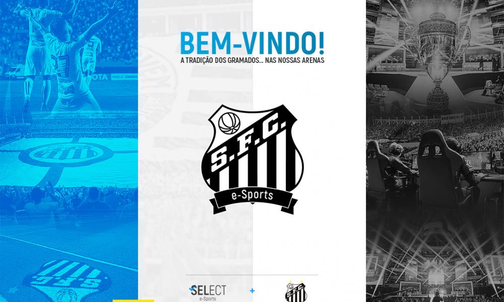 Santos FC anuncia equipe de eSports