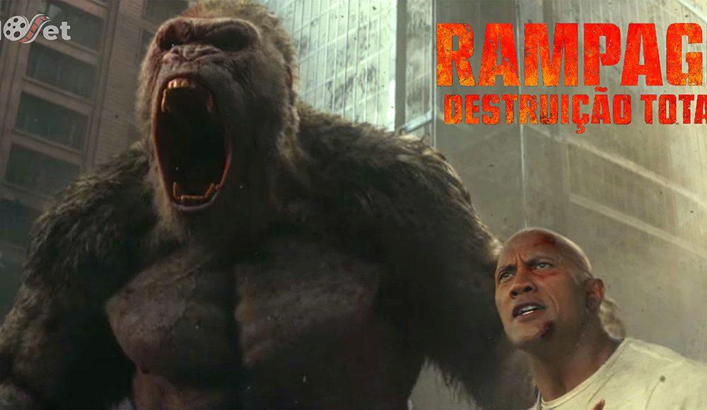 Rampage: bom humor e ação que nos surpreendem positivamente.