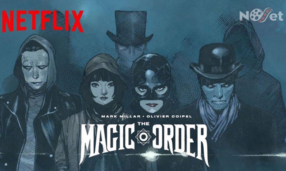 """Quadrinhos da Netflix? Sim! Conheçam """"The Magic Order""""."""