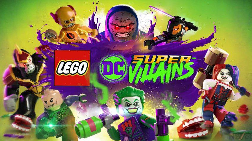 WB Games e LEGO Group anunciam LEGO DC Super-Villains