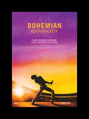"""Conheça o pôster de """"Bohemian Rhapsody"""", divulgado recentemente pela 20th Century Fox"""