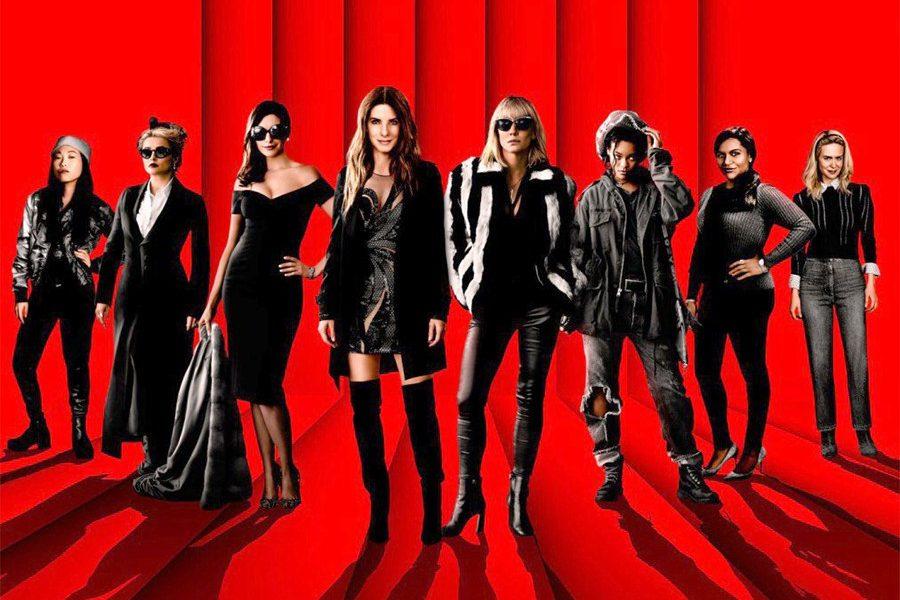 Oito mulheres e um Segredo – Belas, Glamourosas e do Roubar.