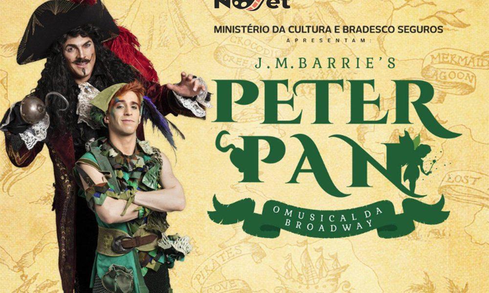 'Peter Pan' é o primeiro musical a conseguir patrocínio através do PROAC.