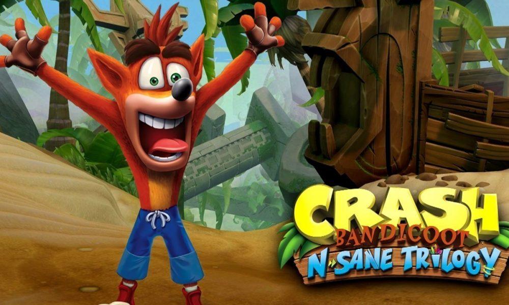 Crash Bandicoot N. Sane Trilogy está disponível para outras plataformas!