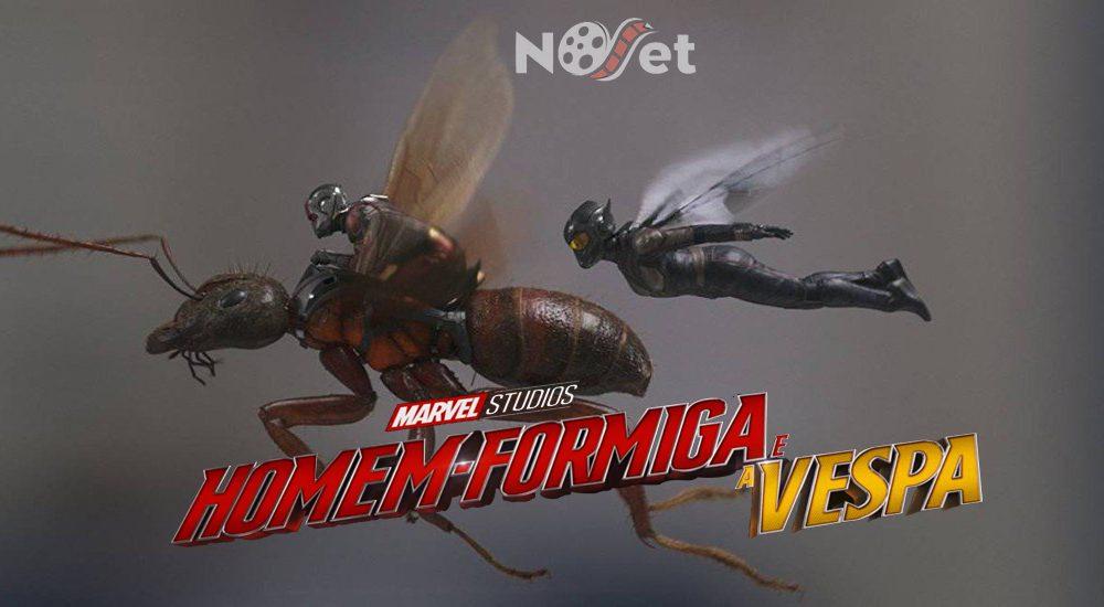 Homem-Formiga e a Vespa. A Marvel acerta em cheio no humor e na ação!