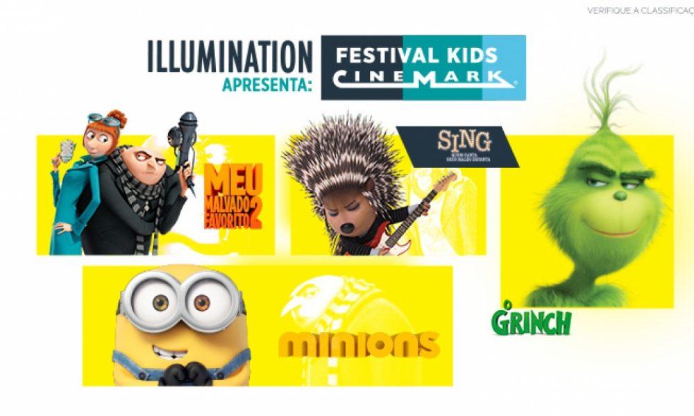 Illumination apresenta Festival Kids Cinemark, em parceria com a Universal Pictures