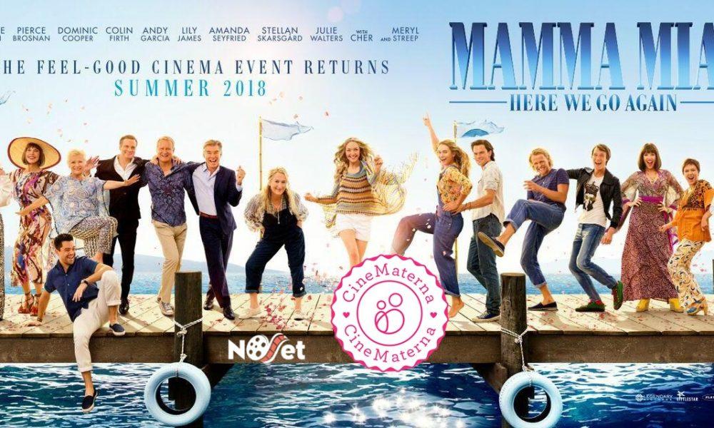 """CineMaterna: Estreia """"Mamma Mia! Lá vamos nós de novo"""""""