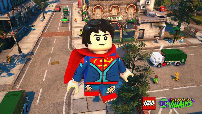 Authentic Games será o Superboy Jon Kent em LEGO DC Super-villains
