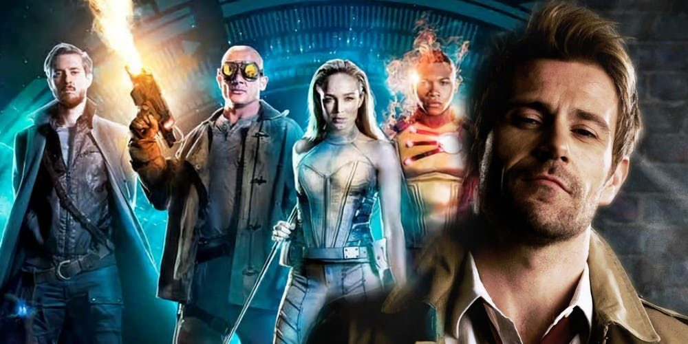 Constantine e DC's Legends of Tomorrow: 3a Temporada.
