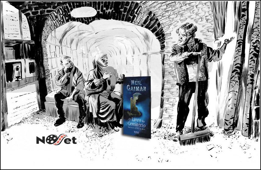 """Resenha de """"O livro do Cemitério"""", de Neil Gaiman"""