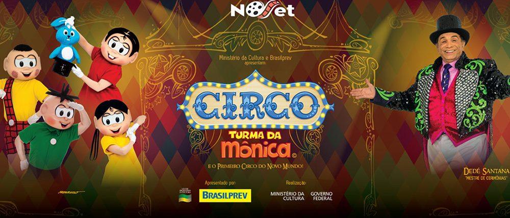 Circo Turma da Mônica – O Primeiro Circo do Novo Mundo estreia dia 20/10 no Teatro Oi Casagrande