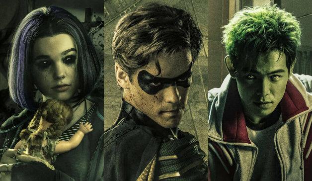 DC Titãs: Dick Grayson – De Robin da Terra 2 a Asa Noturna da Terra 1.