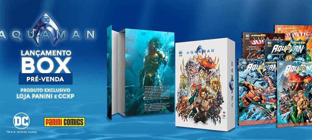 "Panini lança dois boxes espetaculares: ""Noites de Trevas – Metal"" e ""Aquaman""."