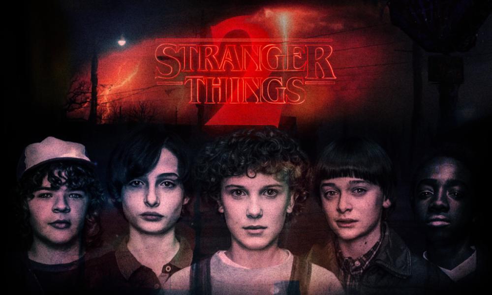 Stranger Things (2a Temporada) na CCXP 2018.