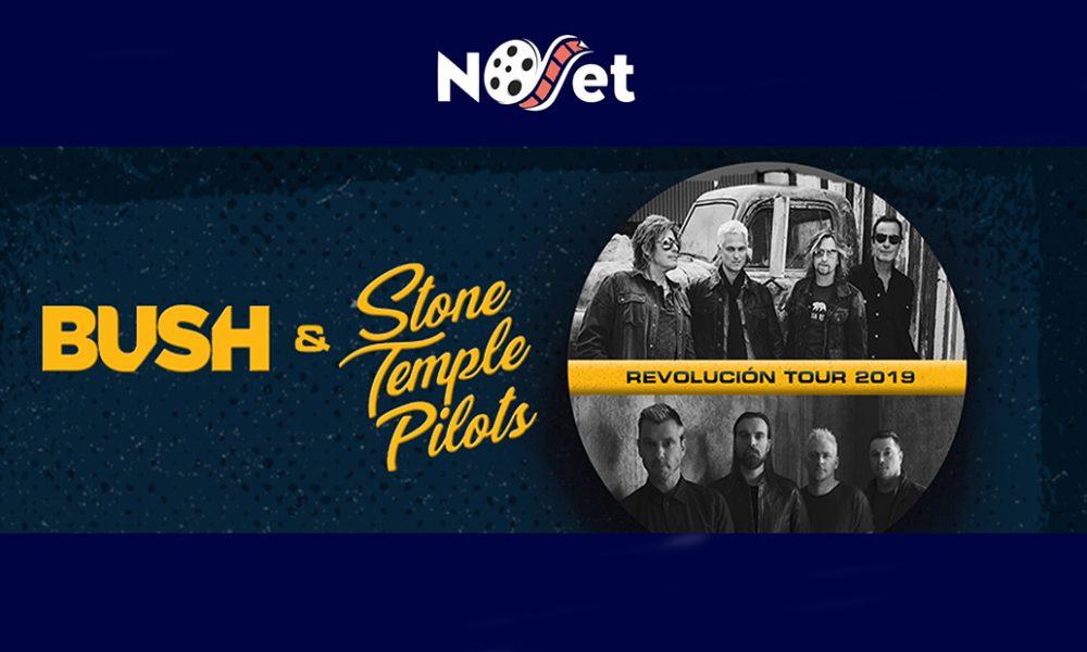 Stone Temple Pilots e Bush estarão no Revolución Tour 2019 em São Paulo.