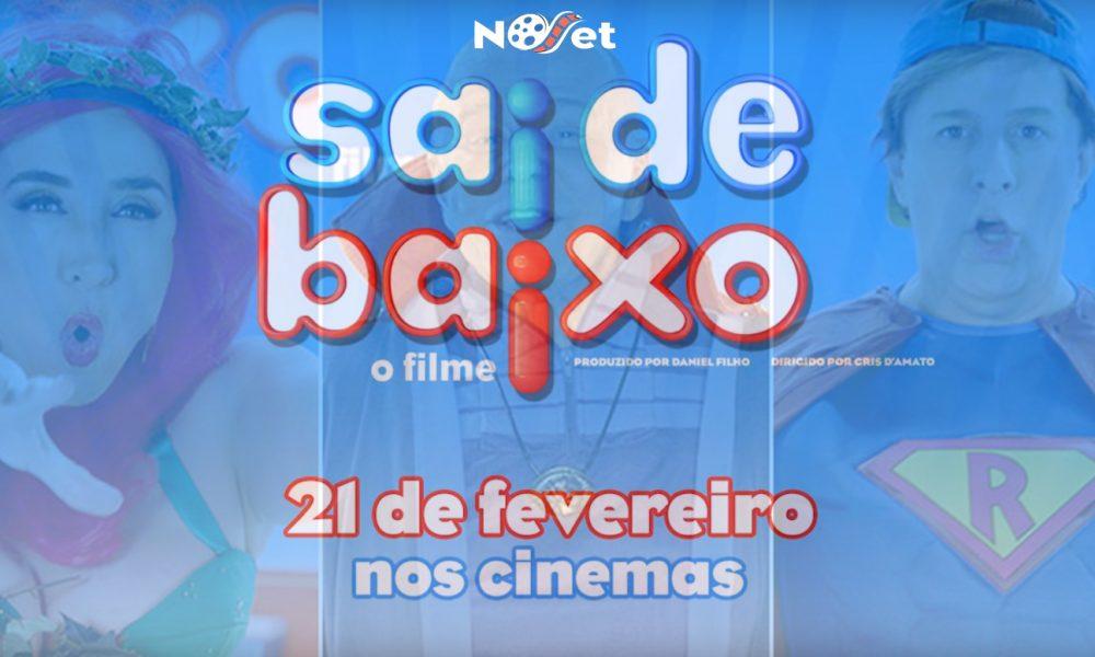 """Sai de Baixo: o Filme. Conheçam as versões """"heroicas"""" de Caco, Magda e Ribamar."""