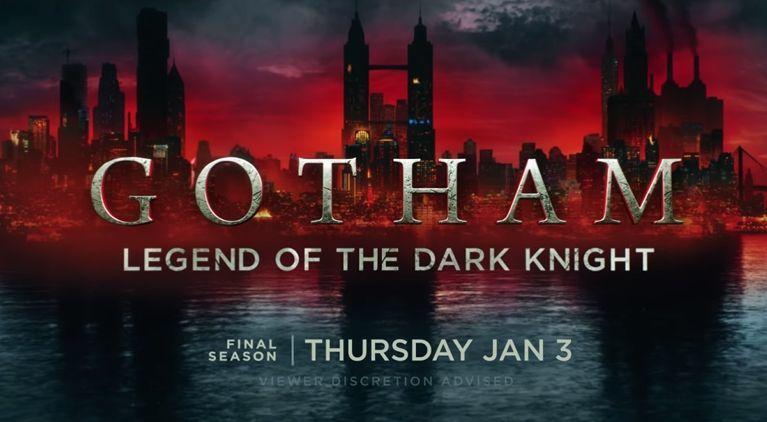 Gotham: 5ª Temporada e Final da Série